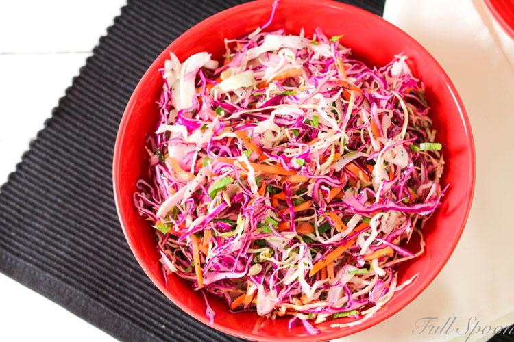 Рецепт салата, капустный салат, полезное питание