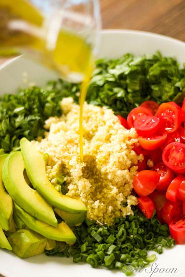 Салат табуле. Здоровое питание. Рецепт салатов