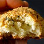 Булочки  с сыром  халуми и мятой