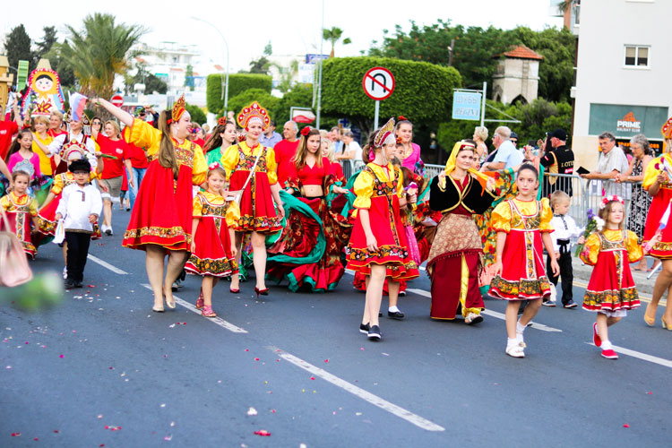 Цветочный фестиваль на Кипре. Жизнь на Кипре. Отдых на Кипре