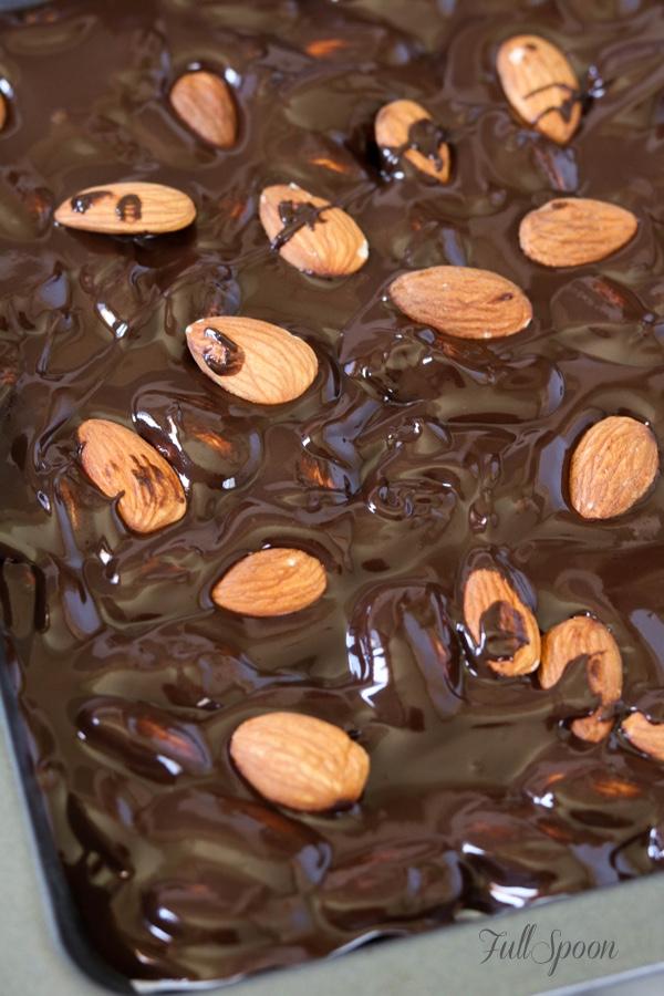 шоколад, шоколад с орехами, рецепты с шоколадом, десерты