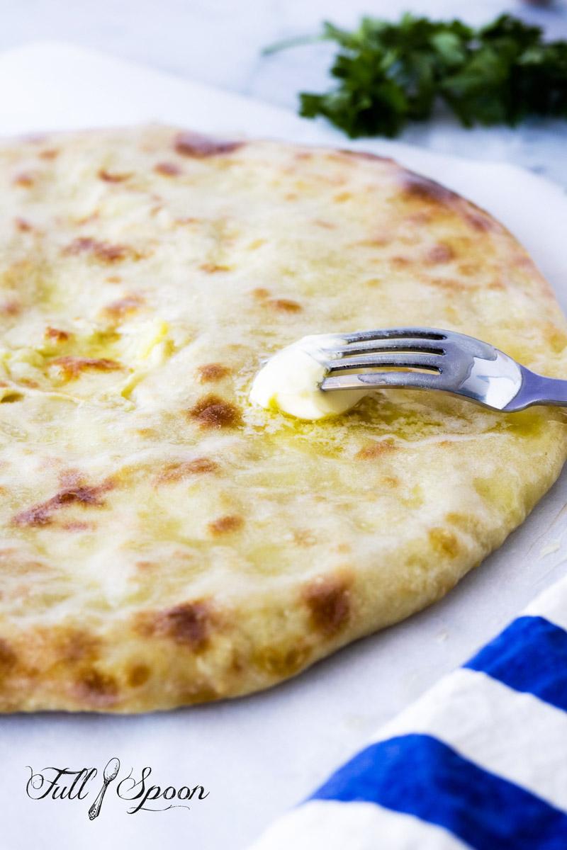 Осетинские пироги с картофелем и сыром