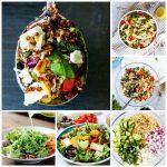 Идеи для новогоднего стола. Рецепты салатов.