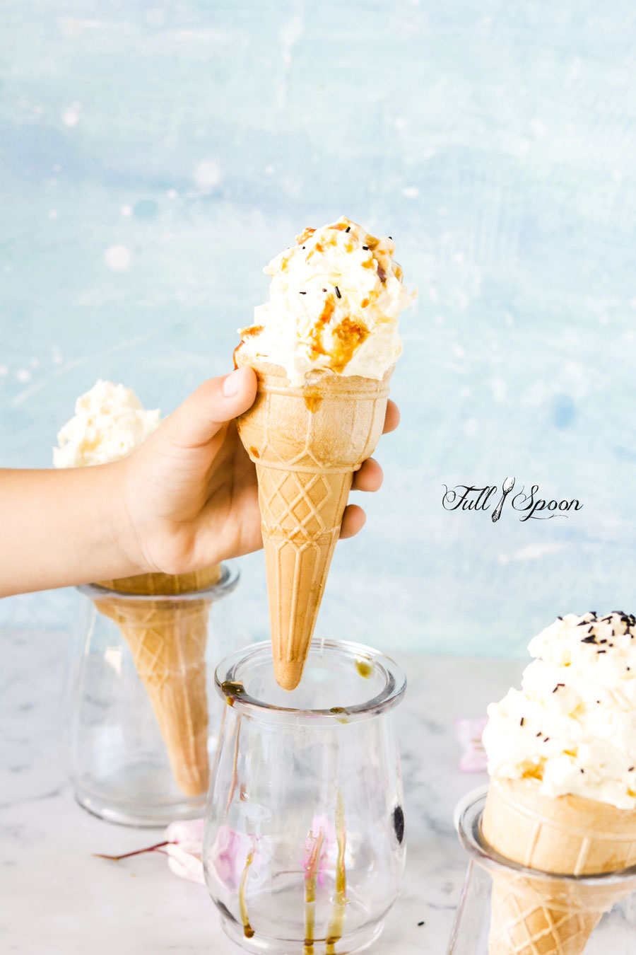 Манговое домашнее мороженое