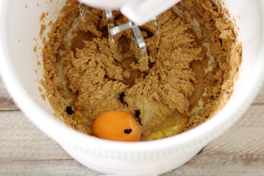 Хрустящее печенье с арахисовым маслом