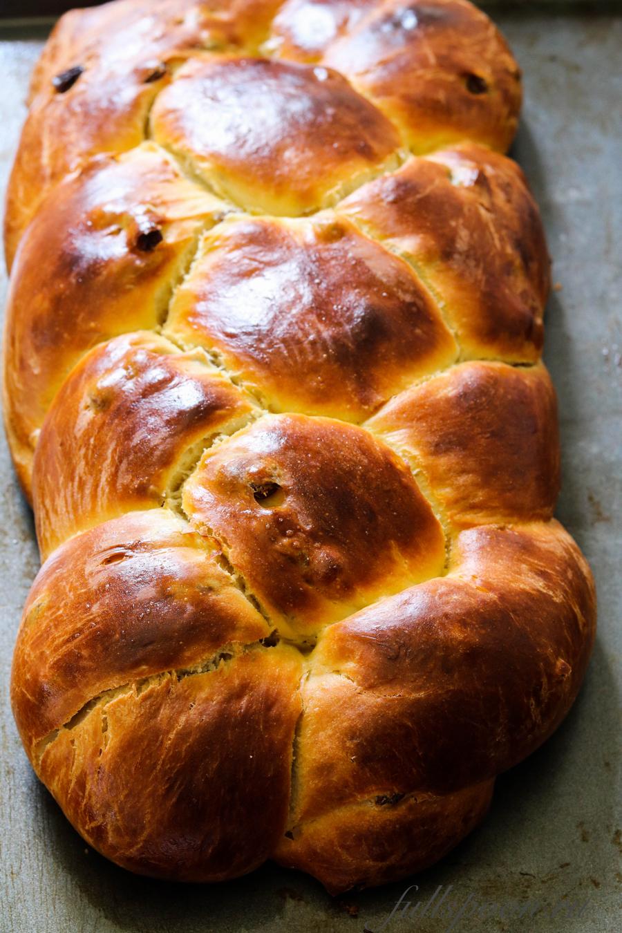 Простой рецепт пасхального хлеба