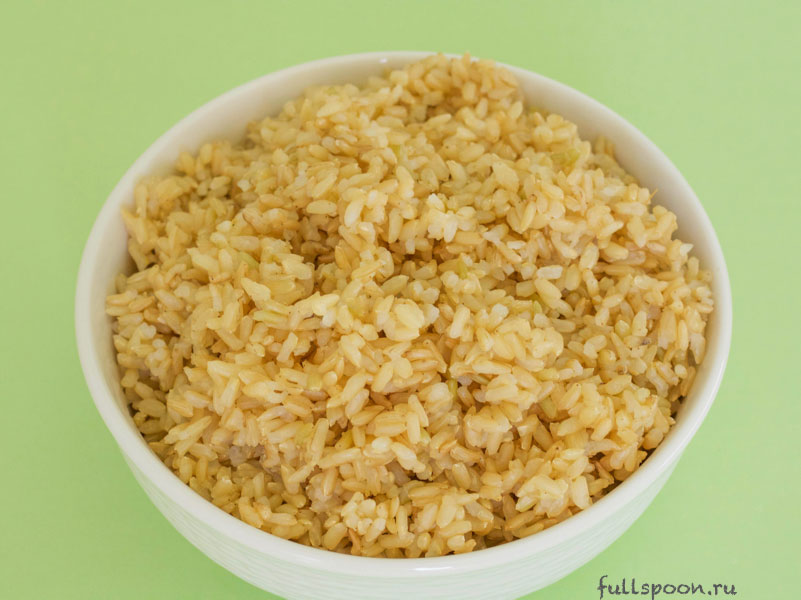 Как приготовить коричневый рис. Польза коричневого риса. Здоровое питание.