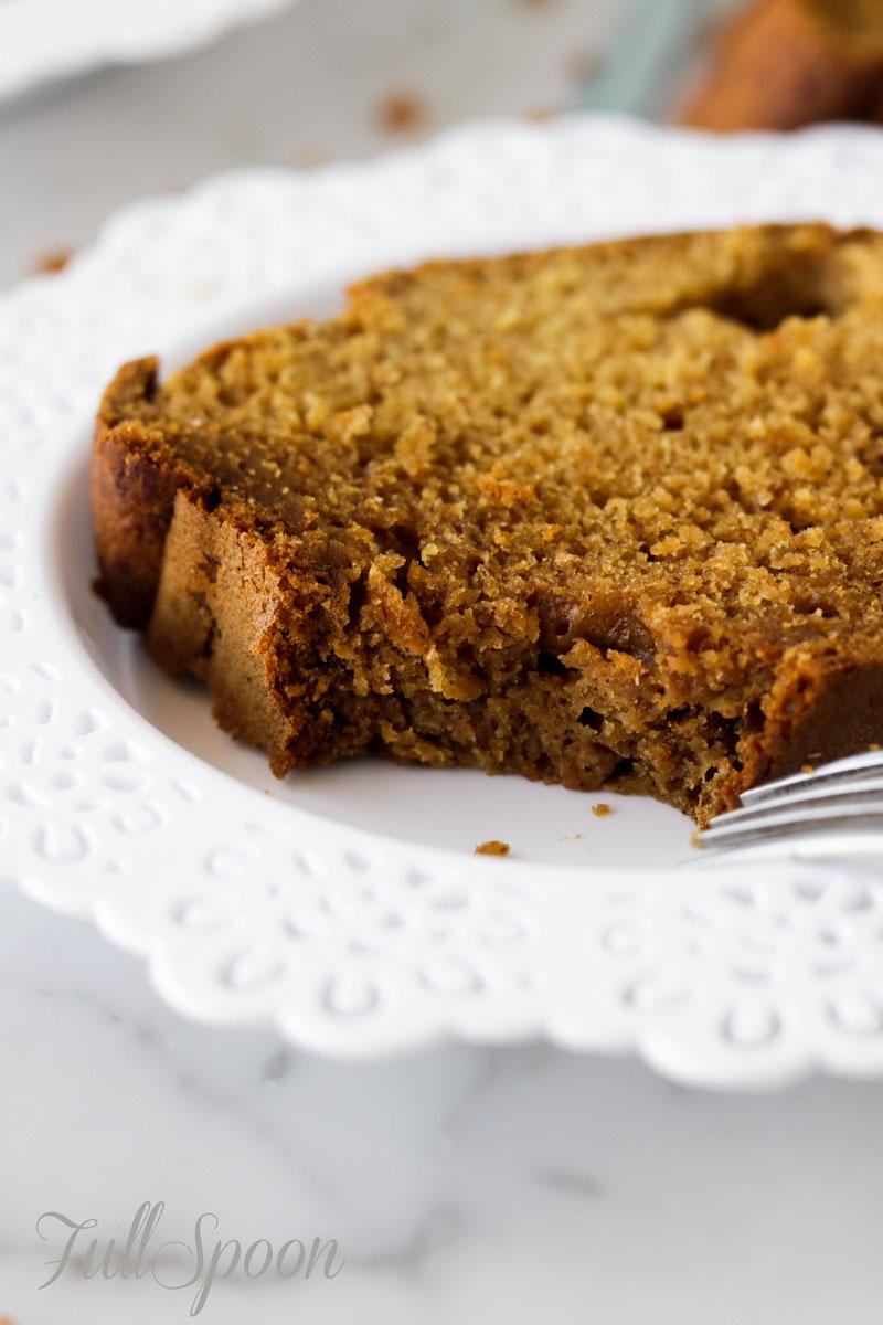 Полезный тыквенный хлеб (кекс)