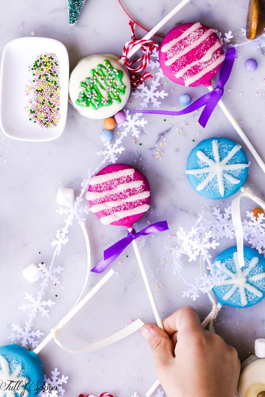Печенье на палочке
