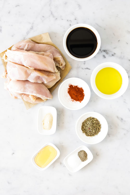 Курица в бальзамическом соусе