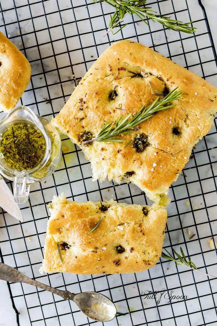 Итальянский хлеб фокачча