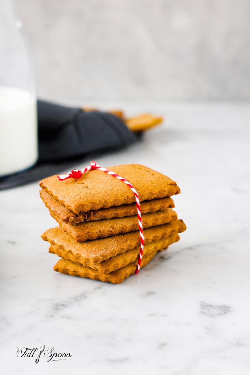 Домашнее печенье для чизкейка