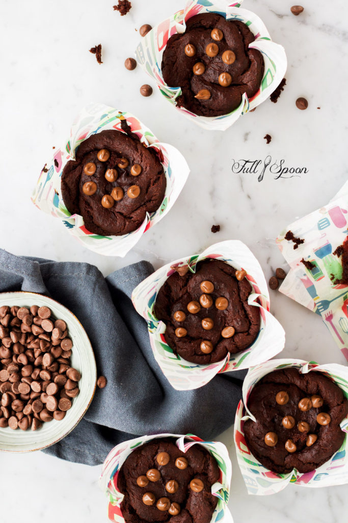 Постные шоколадные маффины